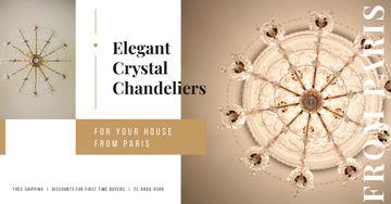 Large Elegant Chandelier Offer