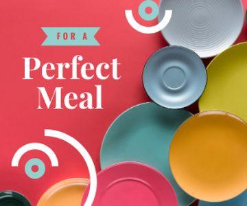 Kitchen Ceramic Tableware Store Ad