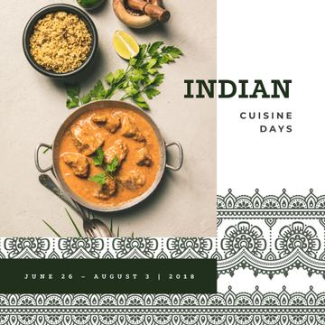 Indian cuisine dish