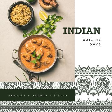 Indian cuisine dish