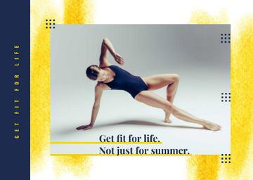 Sport Inspiration with Passionate Professional Dancer