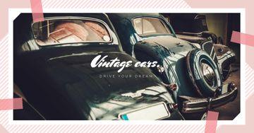 Shiny vintage cars