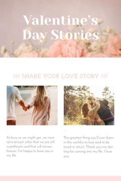 Valentine's Day Stories with Loving Couple