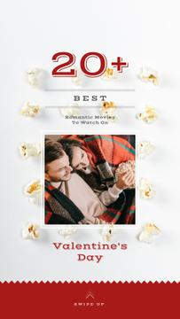 Happy Lovers watching Valentines Movies