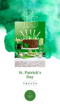 Saint Patrick's Day cake