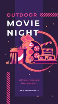 Movie night attributes