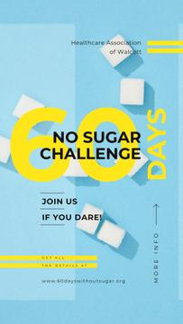Challenge Annoucement with White sugar cubes