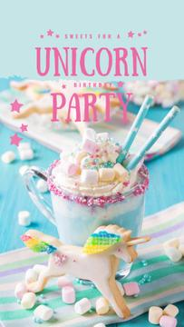 Sweet monster shake for party