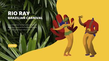 People dancing at carnival