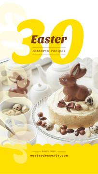 Chocolate Easter eggs and seets