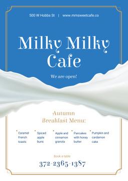 White milk wave