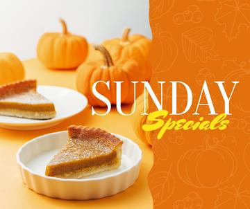 Thanksgiving pumpkin pie offer