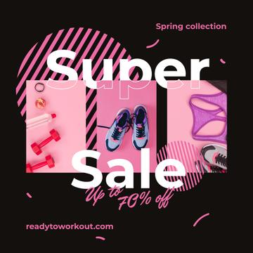 Sport shoes and clothes Sale