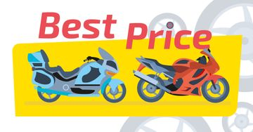 Sale Offer Pair of Sport Motorcycles
