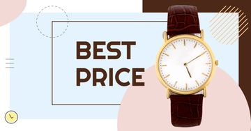 Accessories Sale Stylish Golden Watch