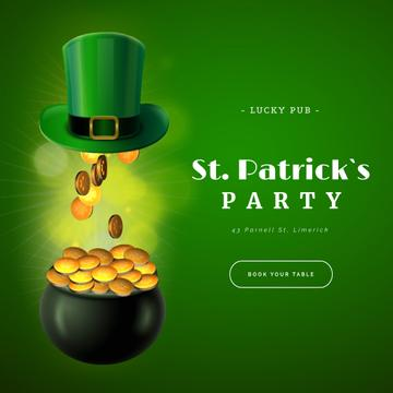 Saint Patrick's Day Party celebration things