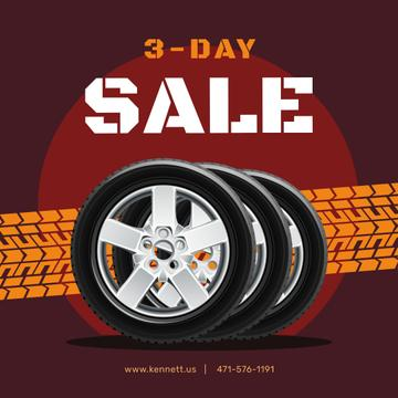 Set of Car Tires for sale