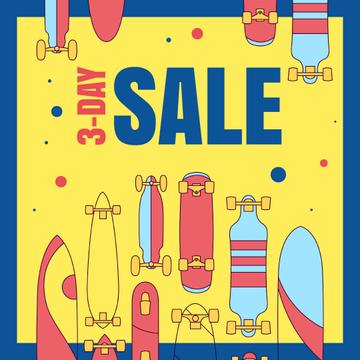 Various types of Skateboards for sale