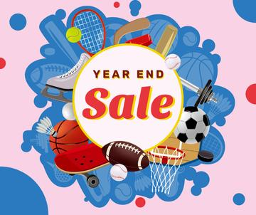 Year End sports equipment sale