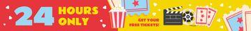 Cinema Offer Watching Movie on Vintage Film