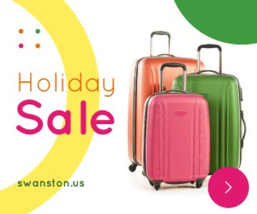 Holiday Sale Colorful Suitcases for Travel