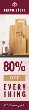 Kitchen Utensils Sale Kitchenware on Shelf
