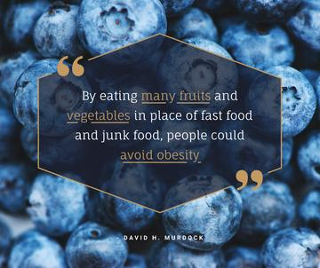 Raw ripe Blueberries for healthy diet
