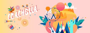 Coachella festival attributes in camp