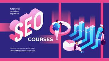 Business Courses SEO Tools Concept