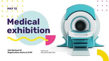 Medical Event announcement modern MRI Scanner