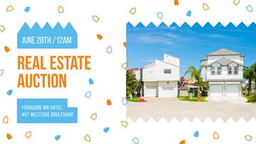 Real Estate Ad modern Houses facades