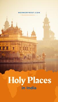 Holy Places with Indian holy temple