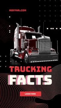 Trucking Facts with Tractor unit car