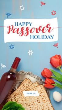 Happy Passover holiday Greeting