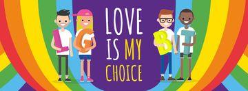 Diverse LGBT couples