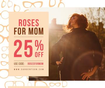 Mother's Day offer with confident Woman