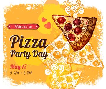 Pizza Party Day promotion