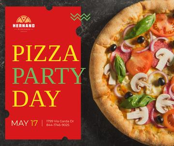 Pizza Party Day celebration
