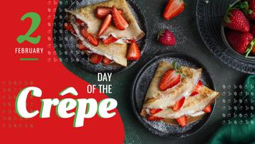 Day of the Crepe Offer Baked Crepes with Berries