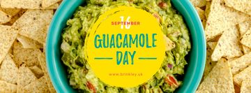 Mexican guacamole dish