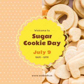 Sugar cookie day