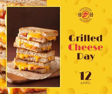 Grilled cheese day celebration