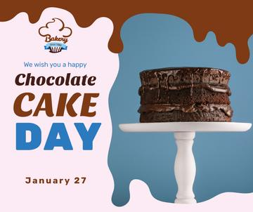 Chocolate cake day celebration