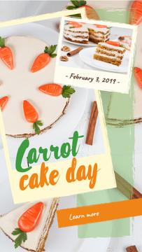 Carrot cake day with Carrots