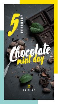 Mint chocolate pieces
