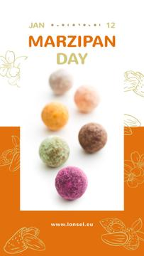 Marzipan confection Day