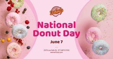 National Donut Day Offer Sweet Glazed Rings