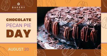 Chocolate Pecan Pie Day Offer Sweet Cake