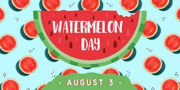 Summer watermelon day