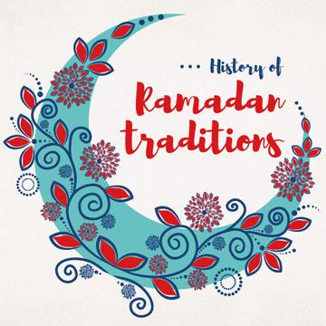 Ramadan Kareem History Traditions with Blue Moon